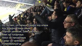 Fenerbahçe Konyaspor Tribün Özeti