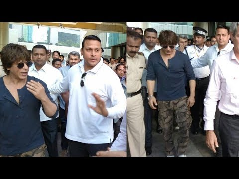 Shahrukh Khan VISITS France Bombay Embassy In Mumbai