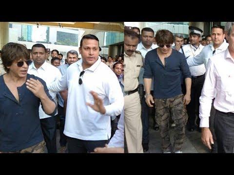 Shahrukh Khan VISITS France Bombay Embassy In Mumbai