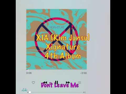 XIA JUNSUS 4th ALBUM: Xignature FULL Album tracts