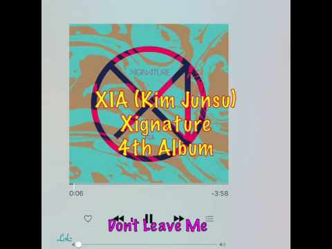 XIA JUNSUS 4th ALBUM: Xignature FULL Album tracts
