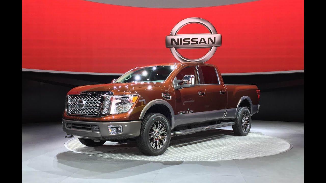 2016 Nissan Titan Xd 2015 Detroit Auto Show Fast Lane