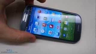 Предварительный обзор Samsung Galaxy S 3 I9300 (preview)