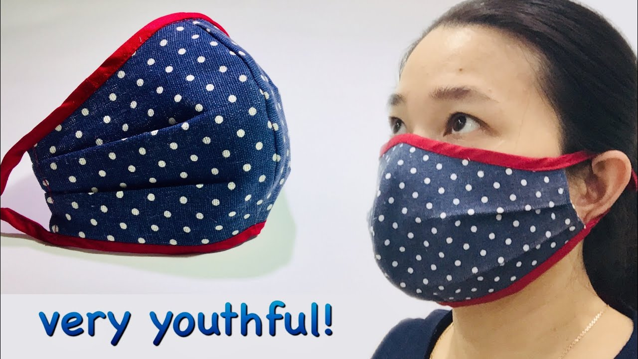 Easy to breathe mask pattern (not touch the nose and mouth), very youthful and big size