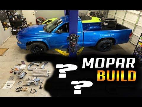 Mopar Dodge Dakota R/T Race Truck Build | Boost is HERE | Reveal #2