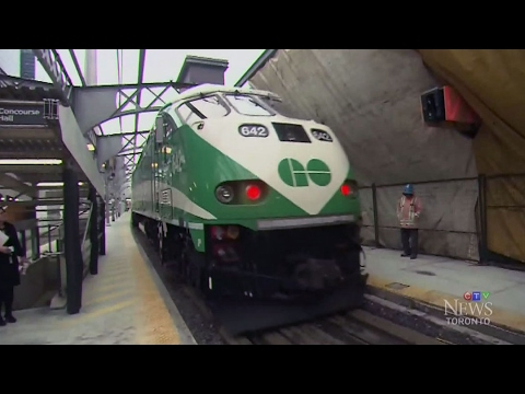Pollution exposure risk for GO Transit passengers
