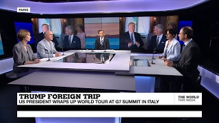 Trump wraps up world tour at G7 summit in Italy (part 1)