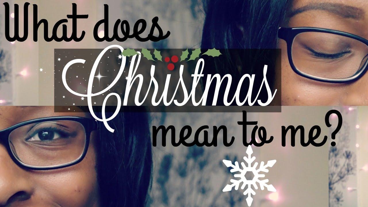MINI-MAS|What does Christmas mean to me| KindleKindKel - YouTube