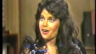 Apollonia Kotero on Late Night, December 3, 1984