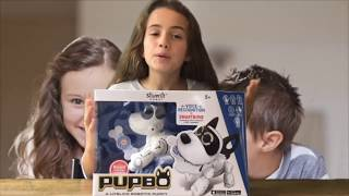 Pupbo unboxing video (Dutch)