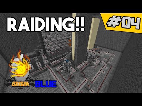 MORE RAIDS!! | OriginMC Blue #4 (Minecraft Factions)