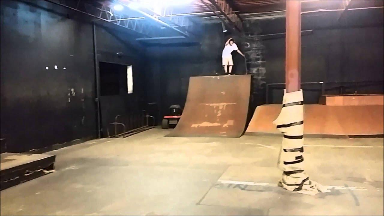 GoPro 4 Test + Skate Naked Skatepark - YouTube