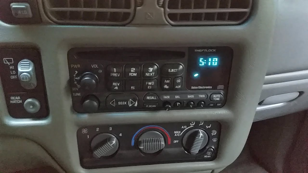 99 chevy silverado 1500 radio wiring 2000 gmc jimmy sle 4 door speaker install youtube  2000 gmc jimmy sle 4 door speaker install youtube