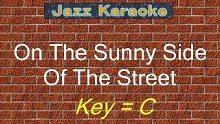 jazzkara on the sunny side of the street key c