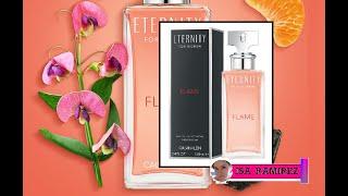 CALVIN KLEIN Eternity for women Flame Reseña de perfume ¡nuevo 2019!