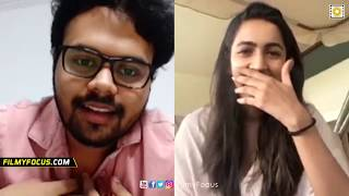 Niharika Clarifies About Her marriage | Niharika and Kaasko Nikhil Live Chat -  FIlmyfocus.com