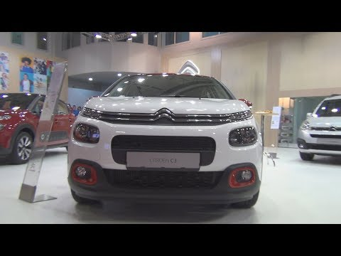 Citroën C3 Feel BlueHDi 75 S&S BVM (2018) Exterior and Interior
