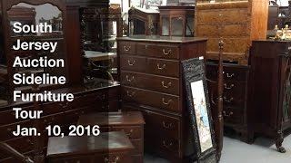 January 10, 2016 Sideline Furniture Tour   South Jersey Auction