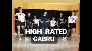 High Rated Gabru | Nawabzade  |Dance Choreography | SPINZA DANCE ACADEMY