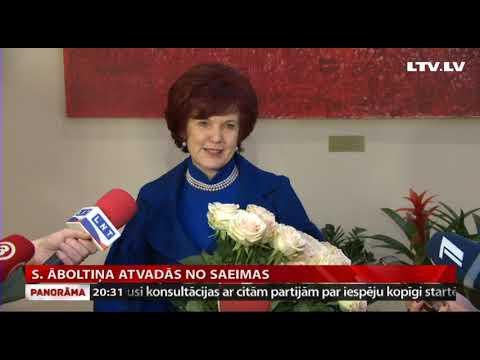 S. Āboltiņa atvadās no Saeimas