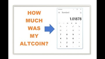 Figure out the price of your ALTCOIN Calculator