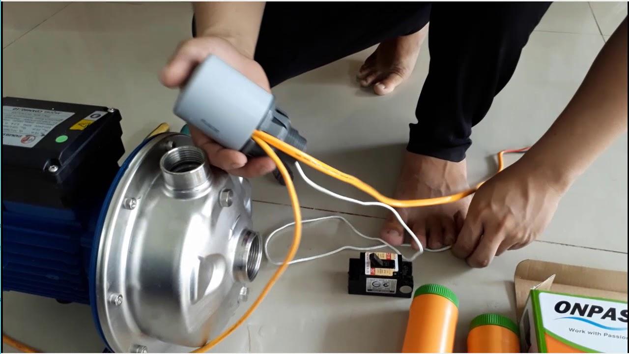 Hướng dẫn lắp bơm nước chạy tự động bằng phao điện tại Cần Thơ & Miền Tây