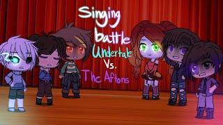 Undertale VS. The Afton Family | SINGING BATTLE |