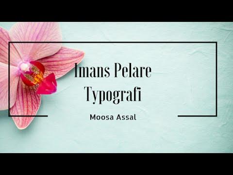 Tron på Allah || Typografi