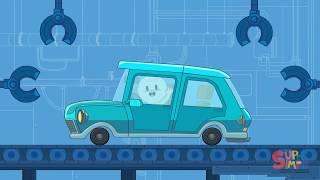 Car   Finley's Factory Cartoon for kids