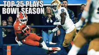 College Football Top 25 Plays 2018-19 || Bowl Season ᴴᴰ