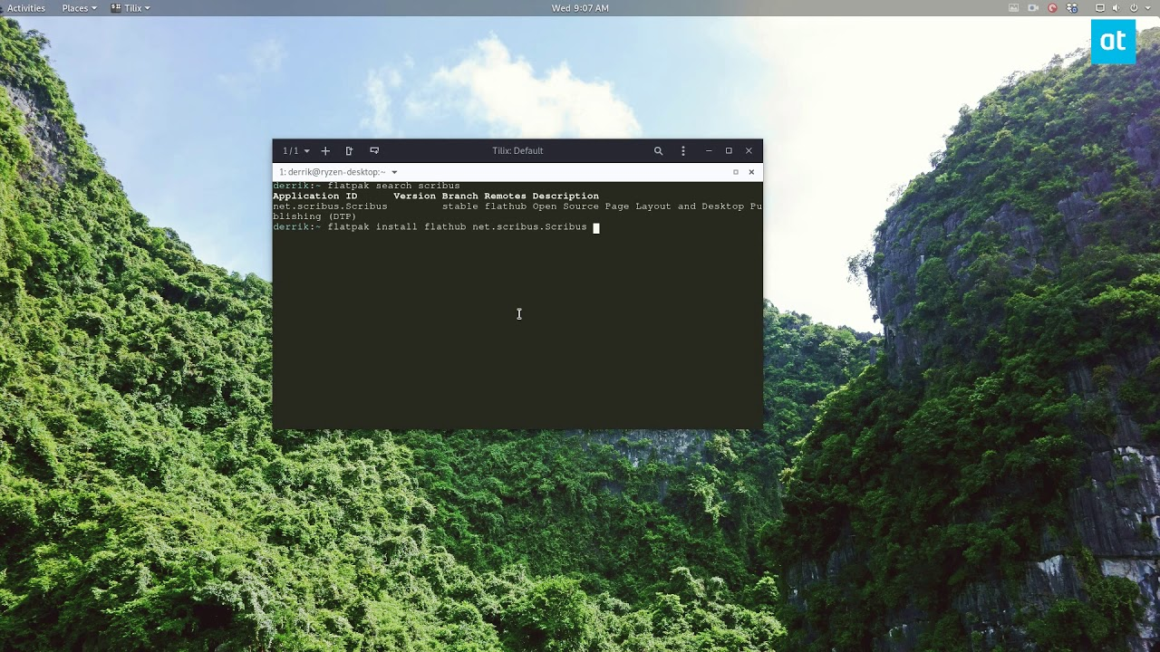 How to install Scribus Publisher on Linux