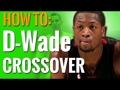 Basketball Dribble Moves - HOW To: Dwyane Wade Pull Back Crossover