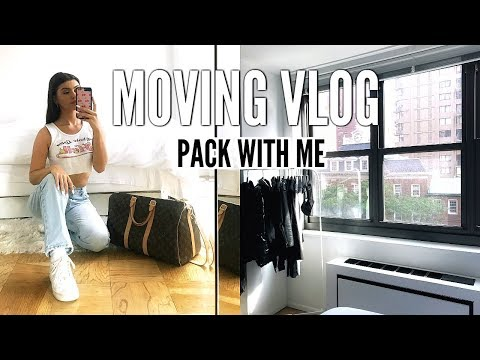 MOVING VLOG | PACKING UP MY FIRST NYC APARTMENT!