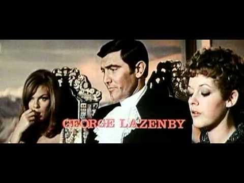 007 On her Majesty's Secret Service trailer