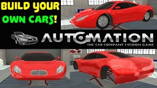 Automation - The Car Company Tycoon Game Gameplay PC HD