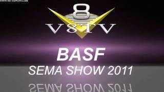2011 SEMA Video Coverage - BASF Waterborne Finishes V8TV
