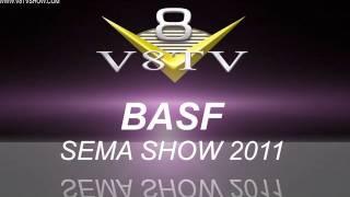2011 SEMA Video Coverage - BASF Waterborne Finishes V8TV