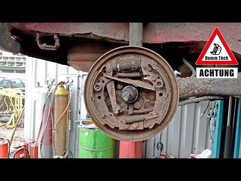 Bremsen erneuern beim Polo 86 C Scheunenfund | Dumm Tüch