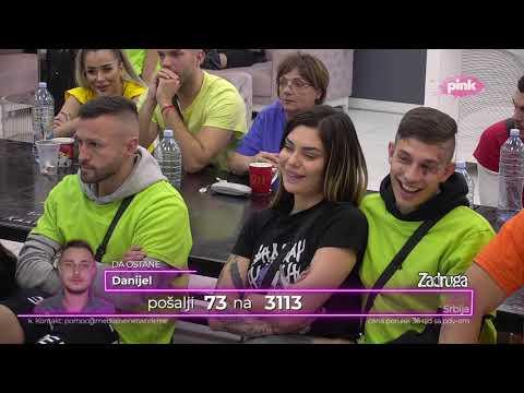 Zadruga 4 - Suočavanje Mine i Cara zbog Sanje - 28.03.2021. - Zadruga Official