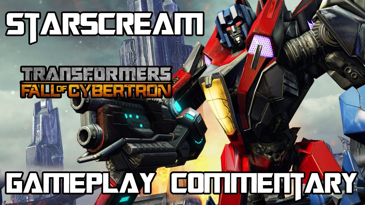 Transformers Fall of Cybertron - Starscream Multiplayer Gameplay & Armor  Set w/ Commentary