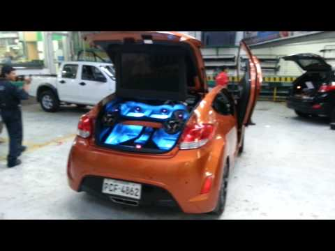 Auto Decorativo Quito Tunning Hyundai Veloster