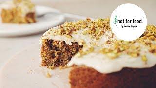 vegan zucchini pistachio cake   hot for food