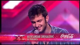 Davor, Aleksandar i Marko audicija - X Factor Adria - Sezona 1