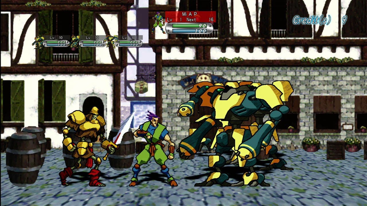 Cgr Undertow Guardian Heroes Review For Xbox 360 Youtube