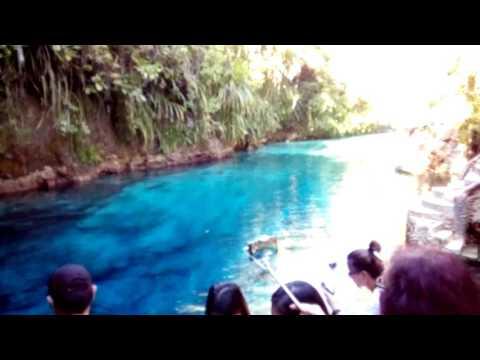 Enchanted River, Hinatuan, Surigao del Sur, Philippines.
