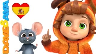 👆 Сanciones Infantiles   Canciones Infantiles en Español de Dave y Ava   Un Dedito Parte 2 👆 thumbnail