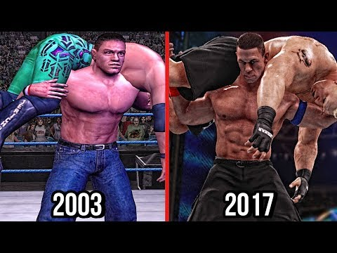 WWE 2K18 - The Evolution Of John Cena's Attitude Adjustment! ( Wrestlemania XIX To WWE 2K18 ) thumbnail