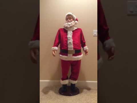 5 foot dancing Santa Claus