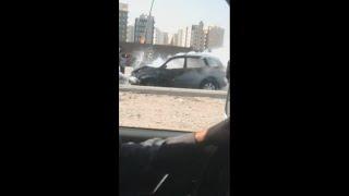 Accident in Kuwait on Faheel road/Faheel highway