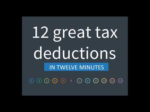 12 Great Tax Deductions For Australian Businesses